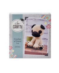So Crafty Crochet Pug Kit