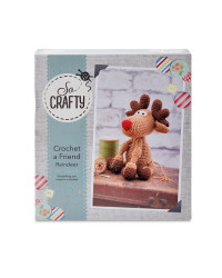 So Crafty Crochet Reindeer Kit