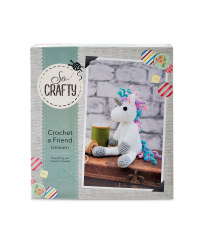 So Crafty Crochet Unicorn Kit