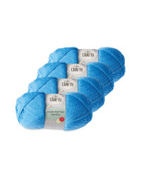 So Crafty Double Knitting Yarn - Light Blue