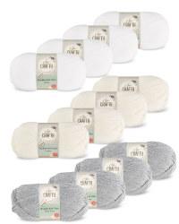 So Crafty Double Yarn 4-Pack
