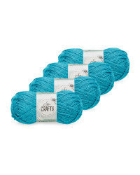 So Crafty Glamour Teal 4-Pack