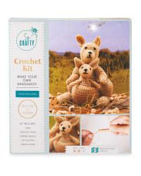So Crafty Kangaroo Knit/Crochet Kit
