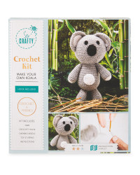 So Crafty Koala Knit/Crochet Kit
