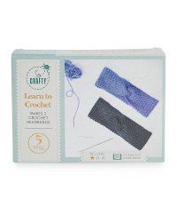 So Crafty Learn to Crochet Craft Kit