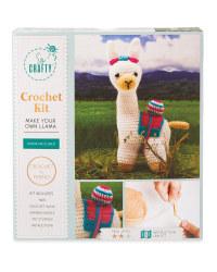 So Crafty Llama Knitting/Crochet Kit