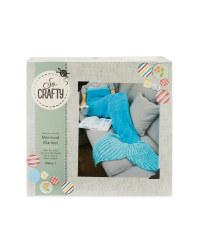 So Crafty Mermaid Blanket Knit Kit
