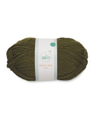 So Crafty Olive Chunky Yarn