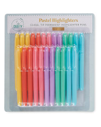 So Crafty Pastel Highlighter 24 Pack