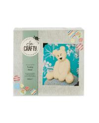 So Crafty Teddy Knitting Kit