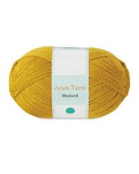 So Crafty Mustard Aran Yarn