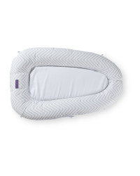 Clevamama Soft Grey Snuggle Nest