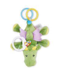 Soft Dragon Teether Rattle