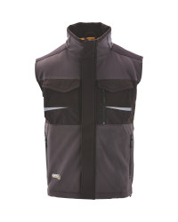 Softshell Gilet with CORDURA® - Grey