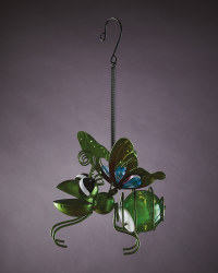 Solar Hanging Bug Lights Green