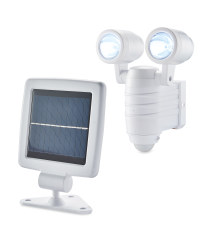 Solar LED Outdoor Spotlight - White