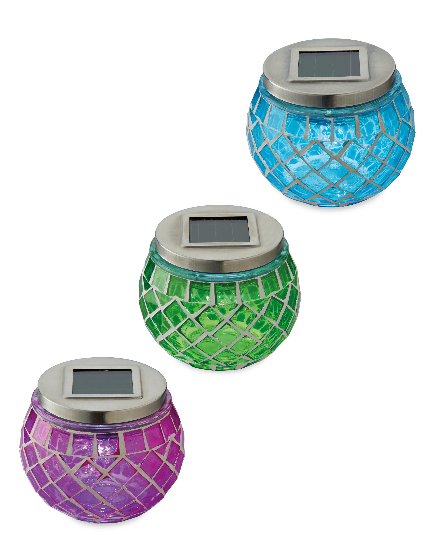 Solar Mosaic Lantern