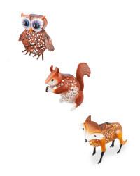 Solar Silhouette Woodland Animals