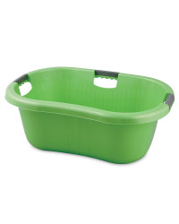 Solid Wall Laundry Basket - Green