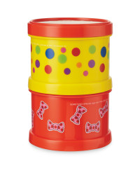 Mr Tumble Stacked Snack Pots