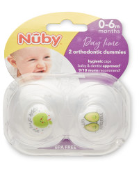 Nuby 0-6 Months Apple Soothers