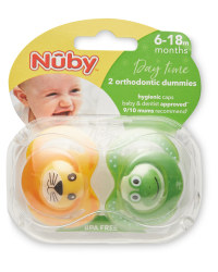 Nuby 6-18 Months Animal Soothers