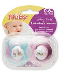Nuby 0-6 Months Bee Soothers