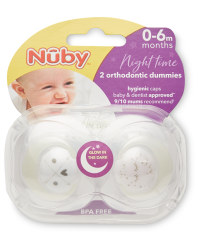 Nuby 0-6 Months Arrow Soothers
