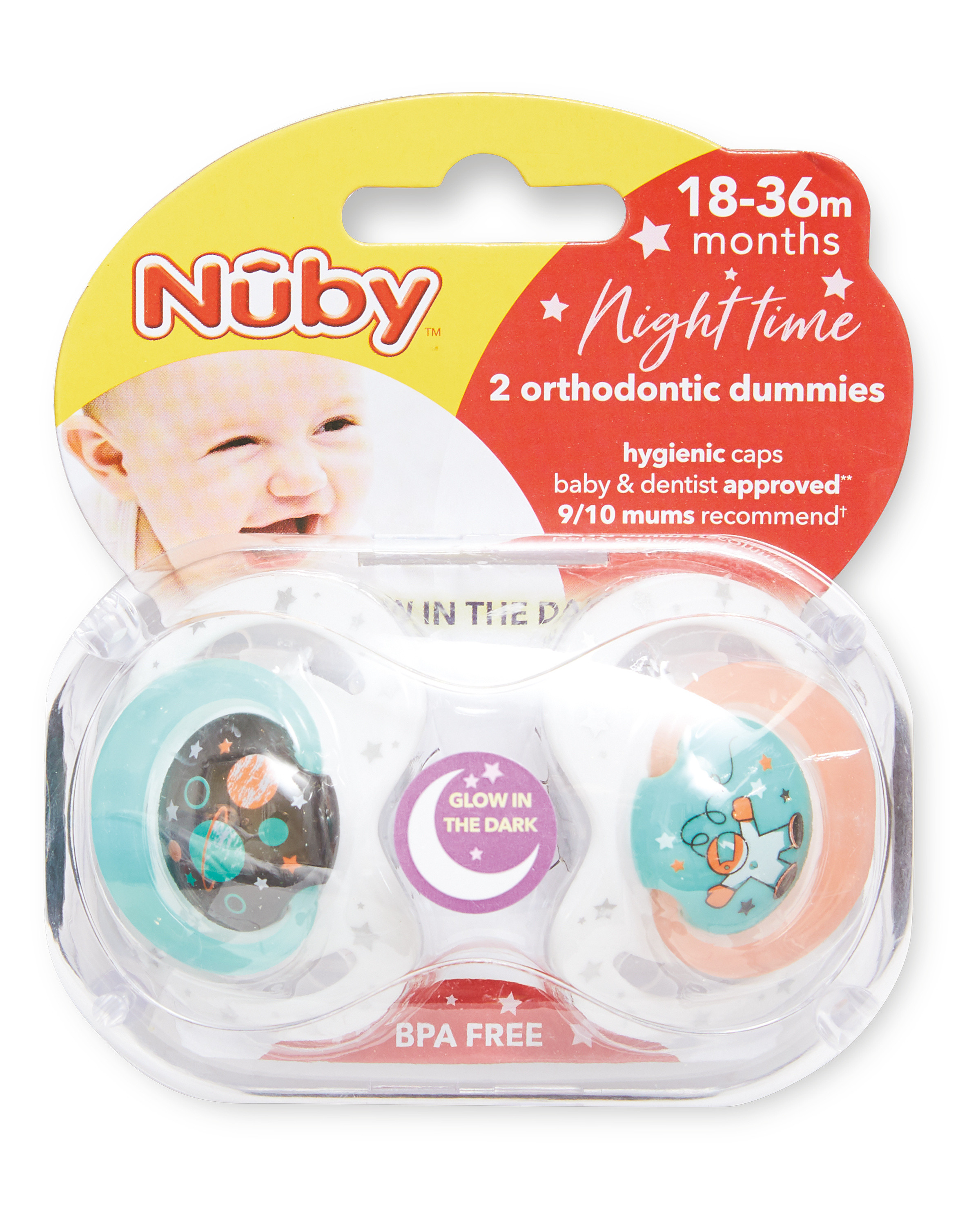 Planet Night Soothers 18-36 Months