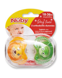 Nuby Animal Day Soother 18-36 Months