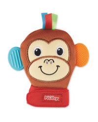 Nuby Monkey Soothing Mittens