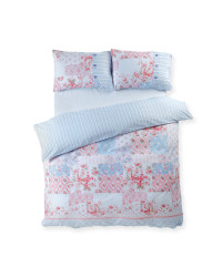 Sophia Button cuff King Duvet Set