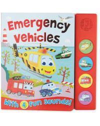 Emergency Vehicles Sound Board Book