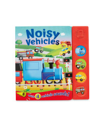Noisy Vehicles Sound Board Book