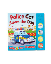 Police Car Sound Board Book