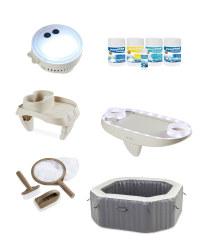 Spa Pool & Accessories Bundle