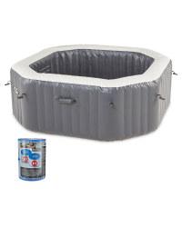 Spa Pool  & 2 Pack Spa Pool Filters