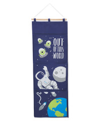 Space Nursery Hanging Storage