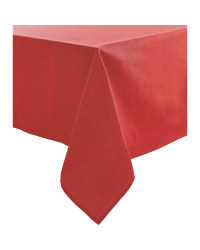 Sparkle Tablecloth 132 x 228cm - Red