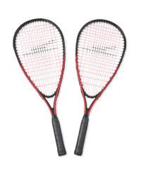 Red Speed Badminton Set