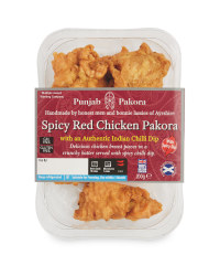 Spicy Red Chicken Pakora