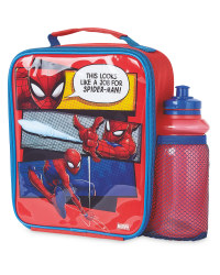 Spiderman Lunchbag And Bottle