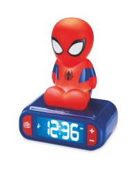 Spiderman Night Light And Alarm