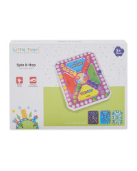 Spin & Hop Travel Game