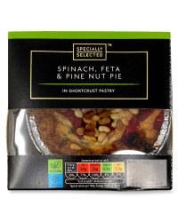 Spinach, Feta & Pine Nut Pie