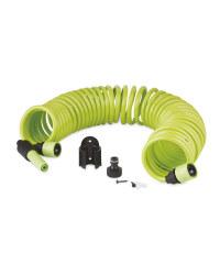 Spiral Garden Hose Set - Green