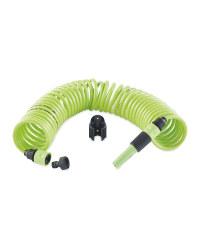 Gardenline Spiral Hose Set - Green
