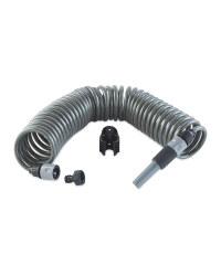 Gardenline Spiral Hose Set - Grey