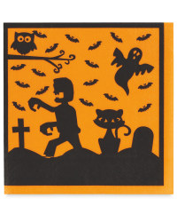 Spooky House Napkins 12-Pack