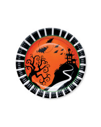 Spooky House Plates 12-Pack
